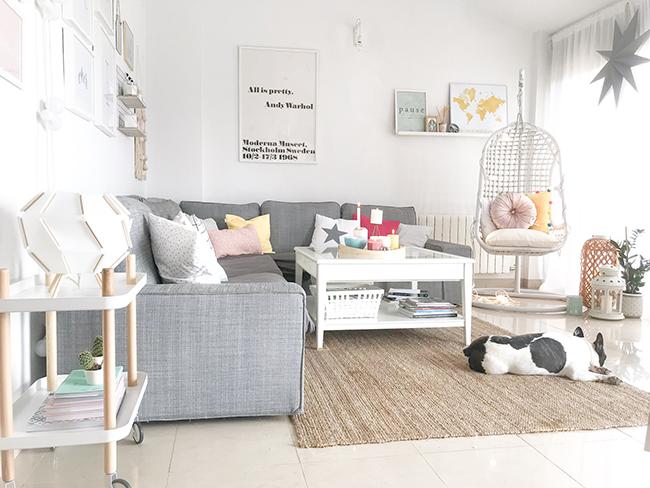 My nordic style: 5 tips para decorar tu salón en verano