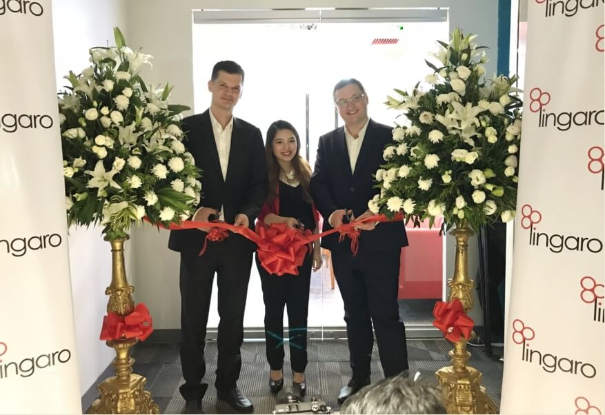 Lingaro Celebrates 4th Year of Operations in PH with the Official Launch of its New Headquarter