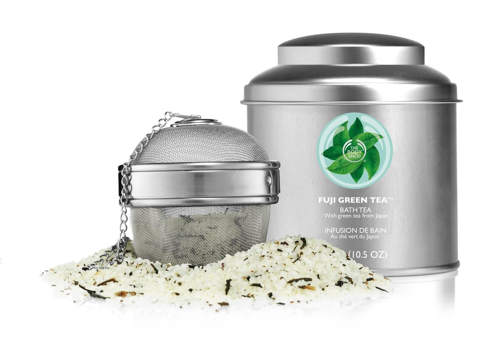 The Body Shop Fuji Green Tea Bath Tea and Infuser