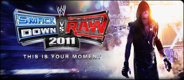 WWE Smackdown Vs Raw 2011 PSP