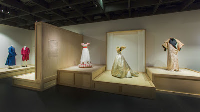 """Masterworks: Unpacking Fashion"" Gallery View, Nineteenth Century Photo: © The Metropolitan Museum of Art"