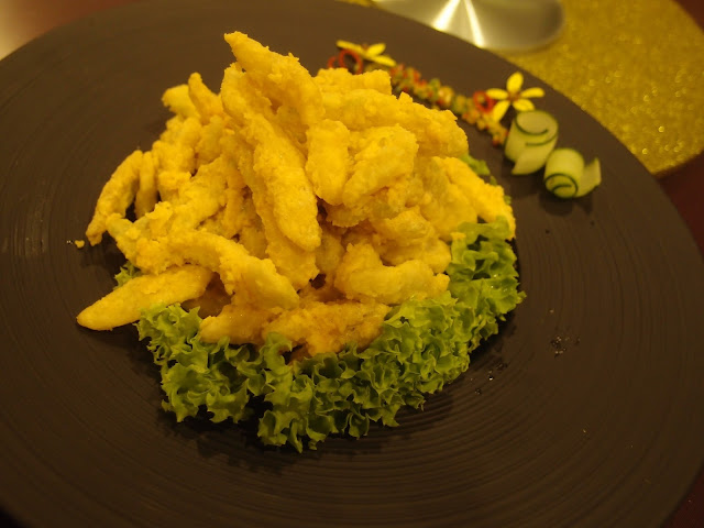 Bitter Gourd with Salted Egg