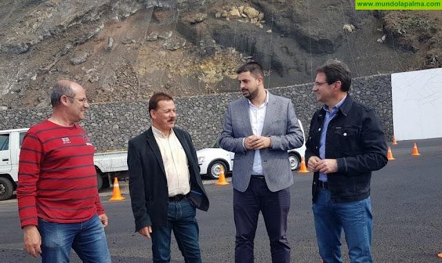 El Cabildo remata las obras del cruce entre las carreteras de Las Indias y Los Quemados