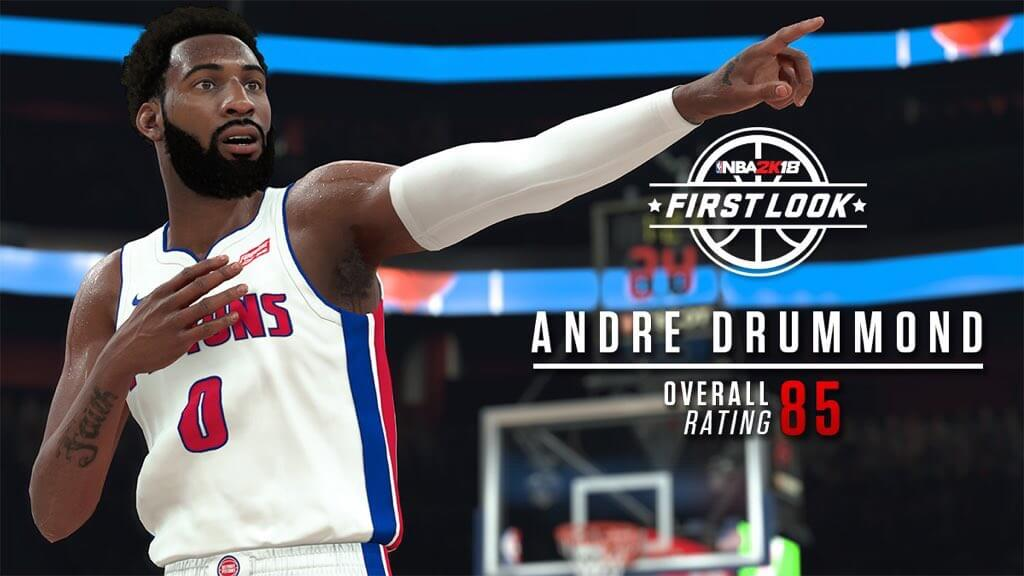 NBA 2K18 Andre Drummond Screenshot - HoopsVilla