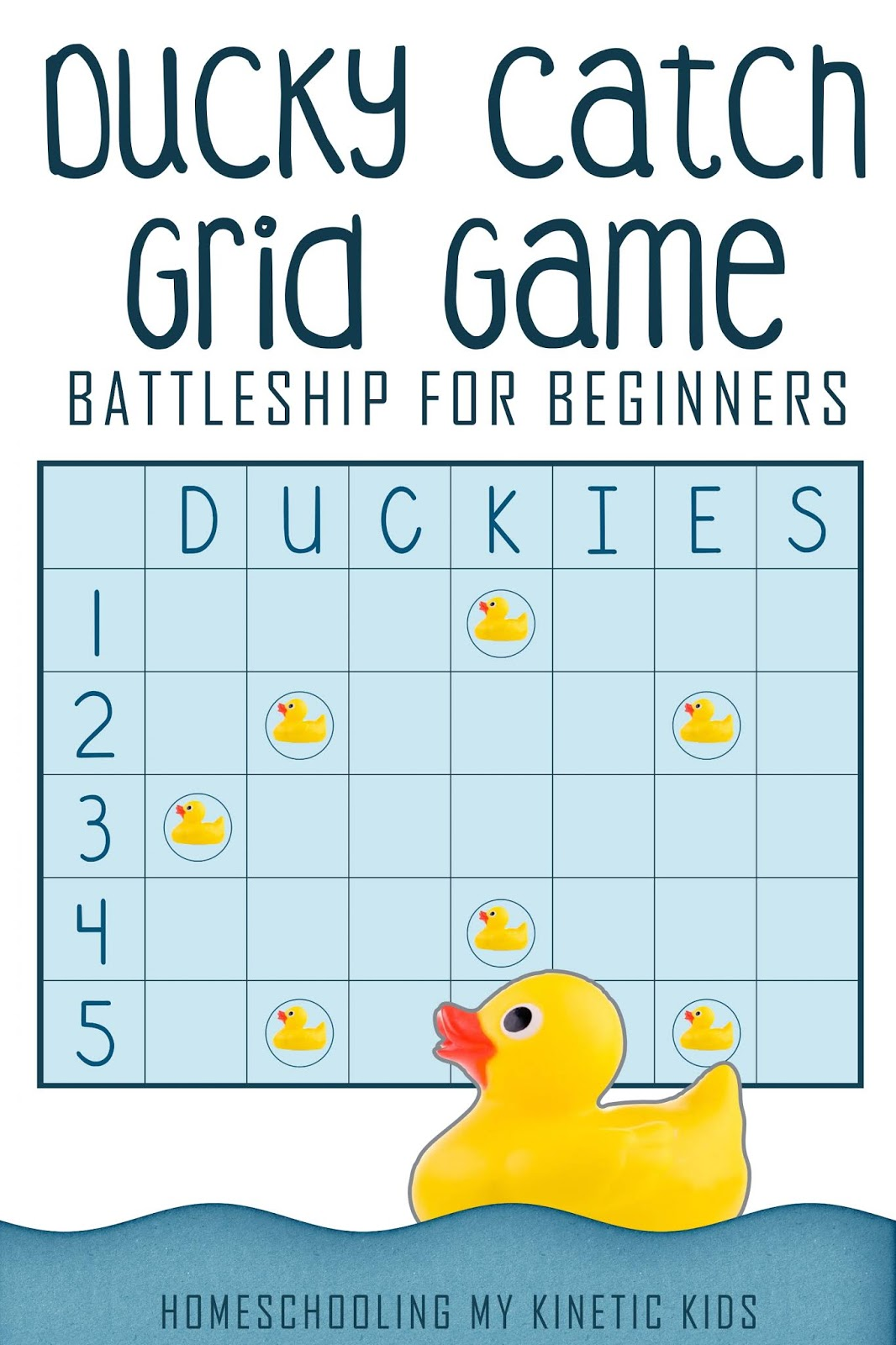 Rubber Duck Grid Game