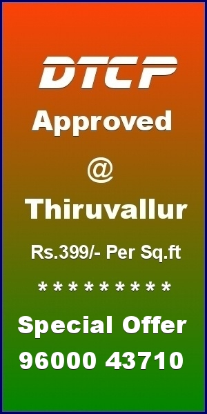 Thiruvallur Plots - Ekkadu - Thanigai Estate - Gomathi Amman Nagar