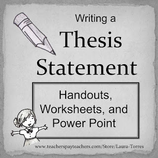 writing a thesis lesson