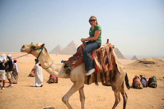 Egypt and the Camel.