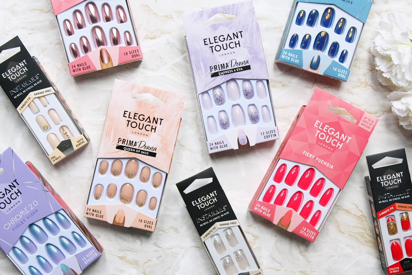 Spring & Summer Nails from Elegant Touch