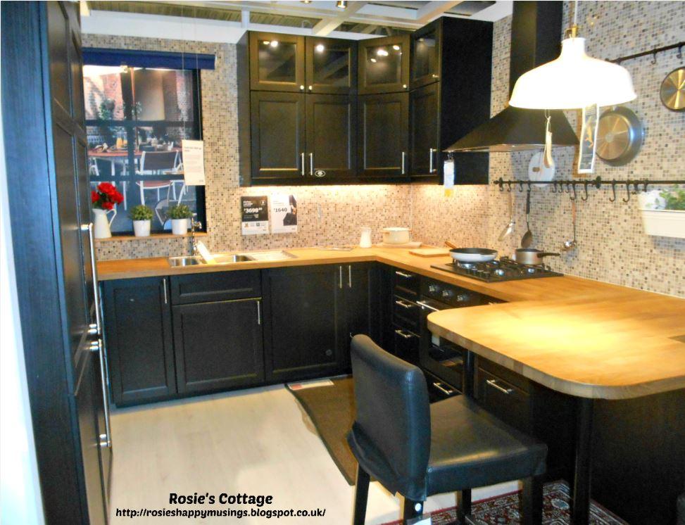 Black Gloss Kitchen Cabinets Ikea