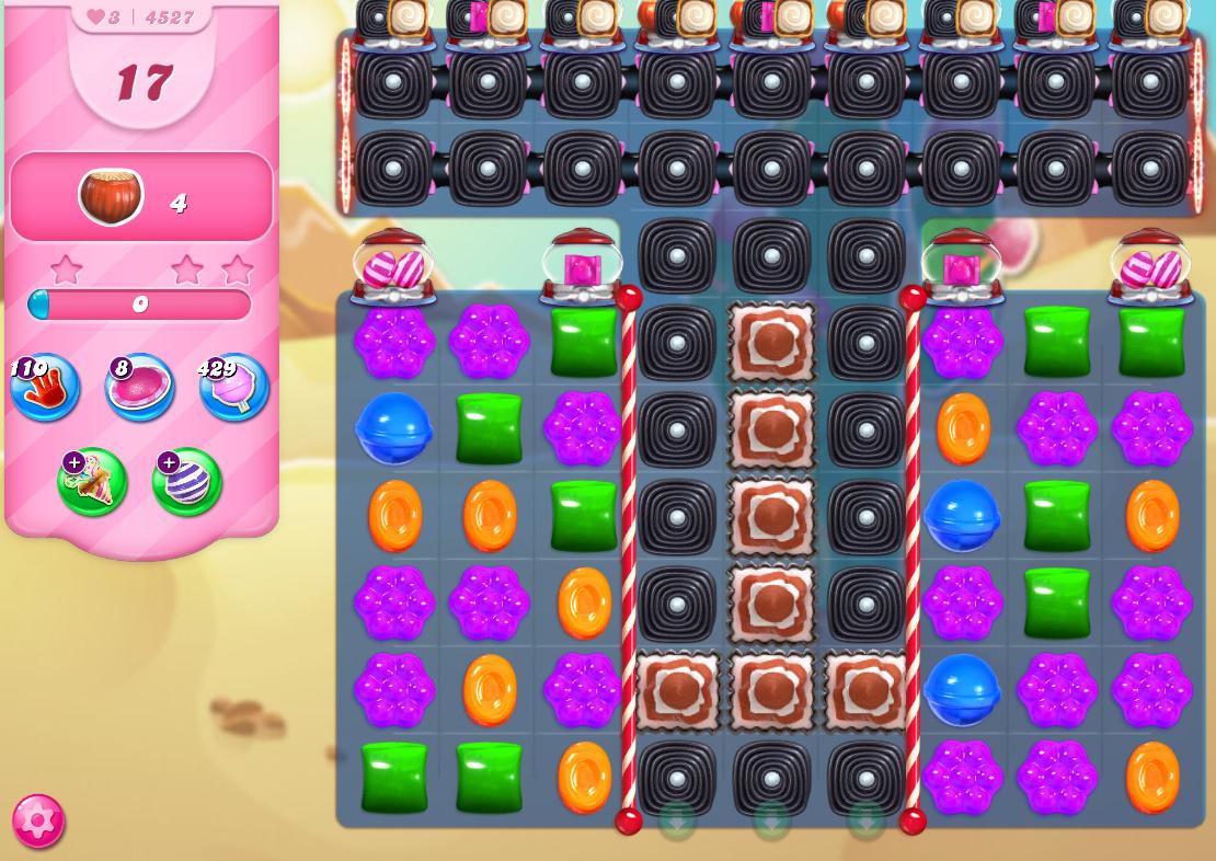 Candy Crush Saga level 4527