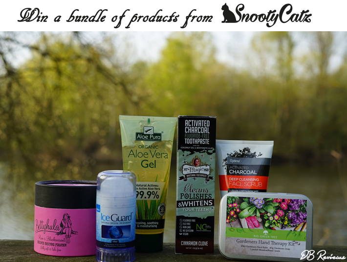 Win a bundle of products from SnootyCatz