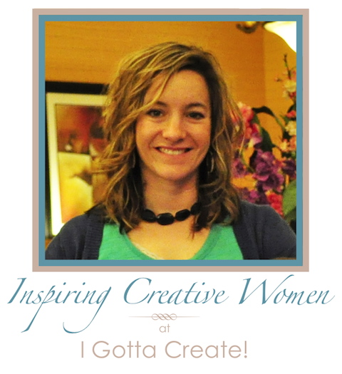 I Gotta Create! Inspiring Creative Women Series: Katie Goldsworthy at Creatively Living
