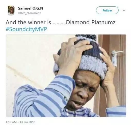 Nigerians Are Angry Diamond Platnumz Won Best Male Artiste