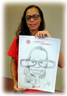 caricaturas ao vivo no shopping center recife