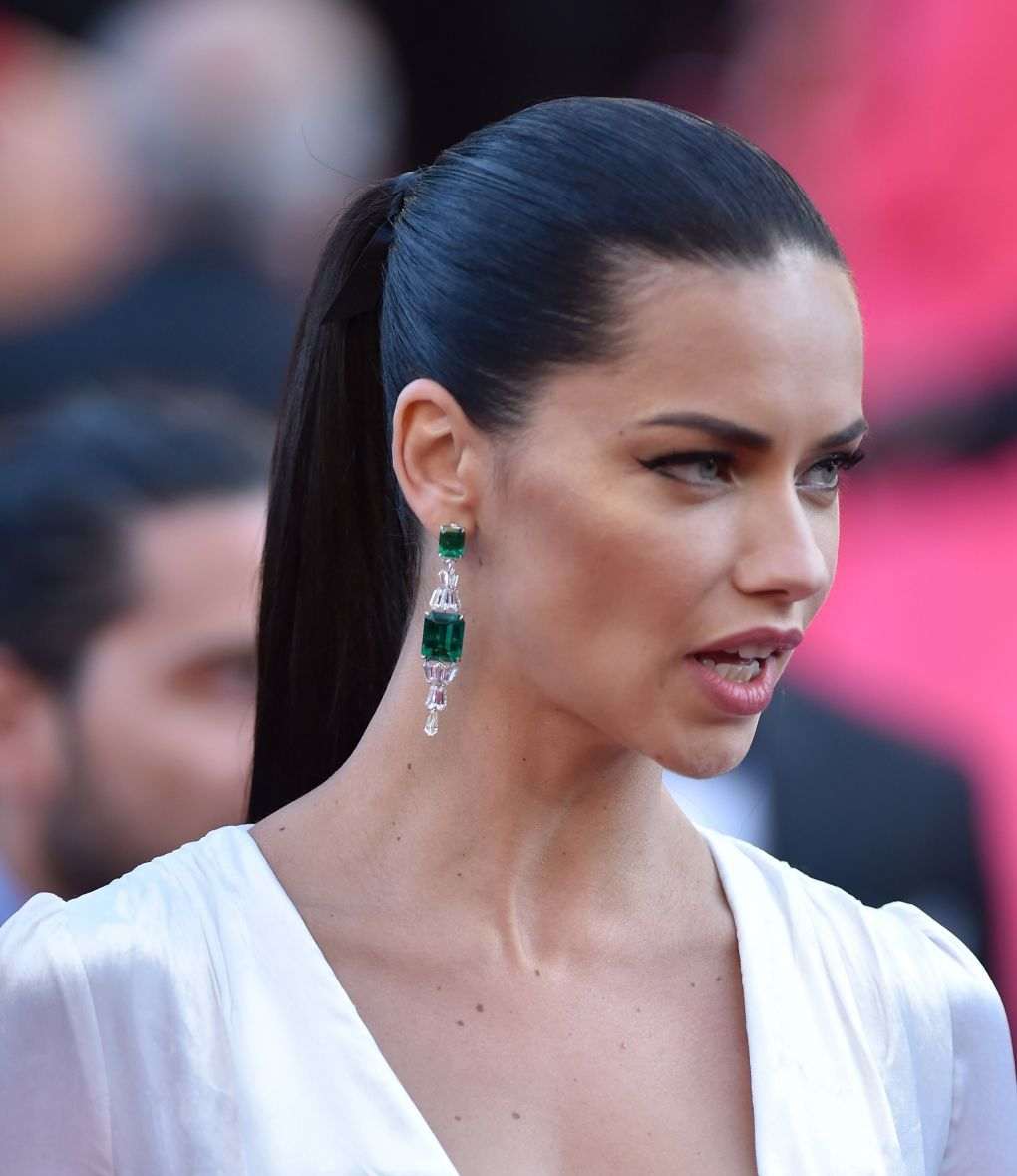 Victoria's Secret Fashion Show Model Adriana Lima at 'Julieta' Premiere at 69th Annual Cannes Film Festival