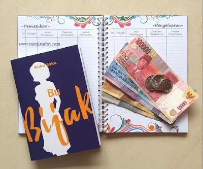 Ibu Berbagi Bijak cara engelola keuangan rumah tangga dan bisnis untuk womenpreneur visa nurul sufitri blogger literasi keuangan prita ghozie