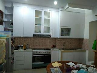 Kitchen set Modern Minimalis di Matraman | Project Ibu Evy