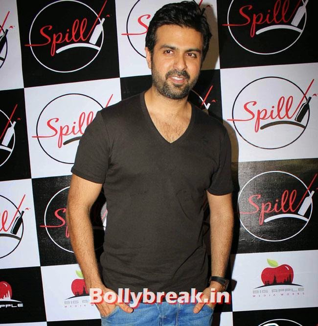 Harman Baweja, Yuvika, Shifali at Launch of Spill Restobar
