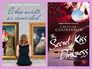 portadas de la novela El beso secreto de la oscuridad
