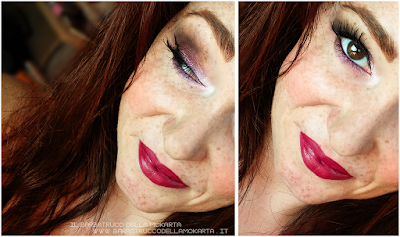 recensione makeup UFO  ombretto swacthes  - Collezione Mutations -Neve cosmetics
