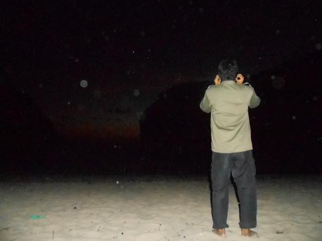 Adzan Magrib di Pantai Greweng mbloogers