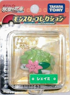 Shaymin figure land form Takara Tomy Monster Collection Seven Eleven asort