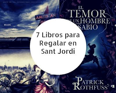 7 Libros para Regalar en Sant Jordi
