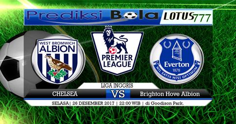 PREDIKSI  West Brom vs Everton  26 DESEMBER 2017