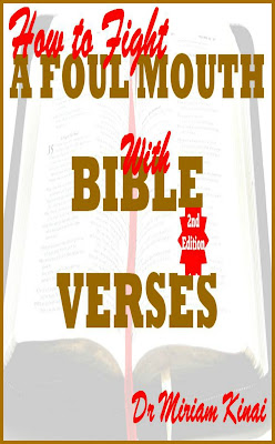 How to Fight a Foul Mouth with Bible Verses teaches you the awesome Bible verses you can pray as spiritual warfare prayers, say as Christian affirmations and reflect on as Christian meditations to help you sanitize your speech.
