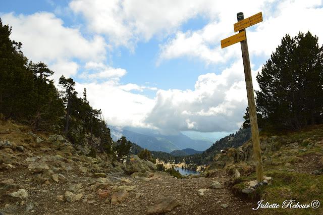 Col de l'Inferne et Lac Achard à Chamrousse