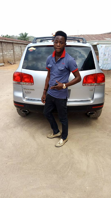 Confirmed!! Internet Marketer Olawale Isaac Welcomes Another Brand New Multi-Million Volkswagen TGIS Car