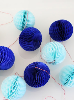 Honeycomb Ball Garland