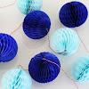Honeycomb Ball Garland Warna Warni