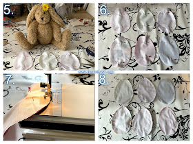Crafting with Cats Easter Special ©BionicBasil® Catnip Easter Eggs Steps 5 - 8