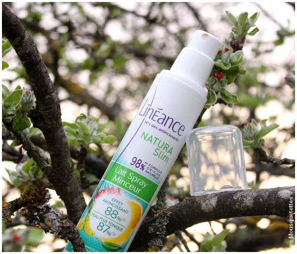 Spray minceur Natura Slim, Linéance - Avis blog beauté