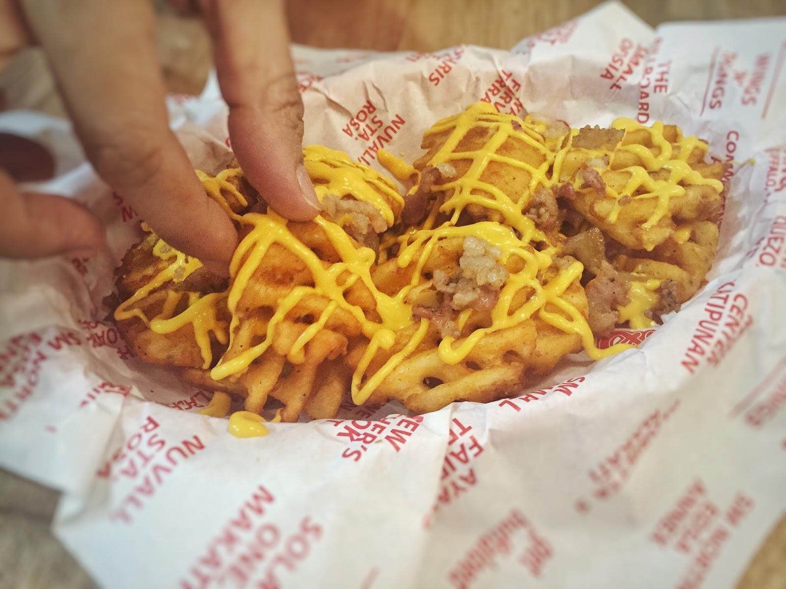 Buffalo's Wings N' Things SM City San Pablo Bacon N' Cheese Fries