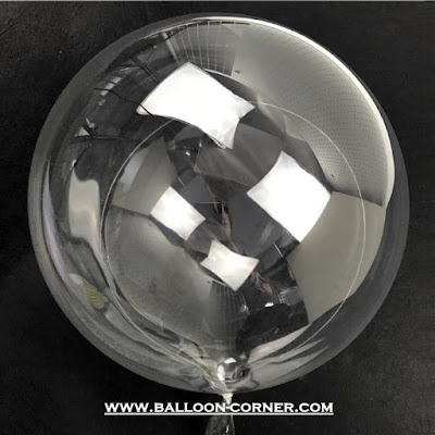 Balon PVC Transparan 24 Inchi / Balon Bubble 24 Inchi (BOBO)