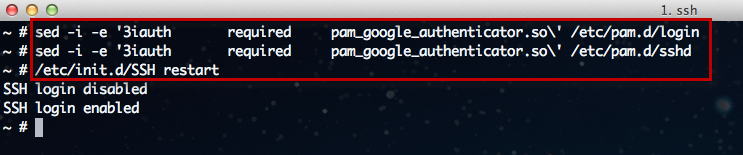 Using Google Authenticator To Provide Two-Factor