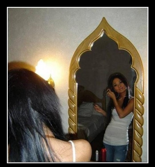 Scary Mirror Picture Puzzle for Adults