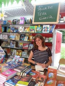 Foto de la autora Paula de Vera