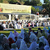 Keluarga Besar Lantamal VIII Manado Sholat Idul Fitri 1438 H