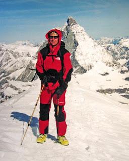 Cima del Breithorn en Julio del 2000