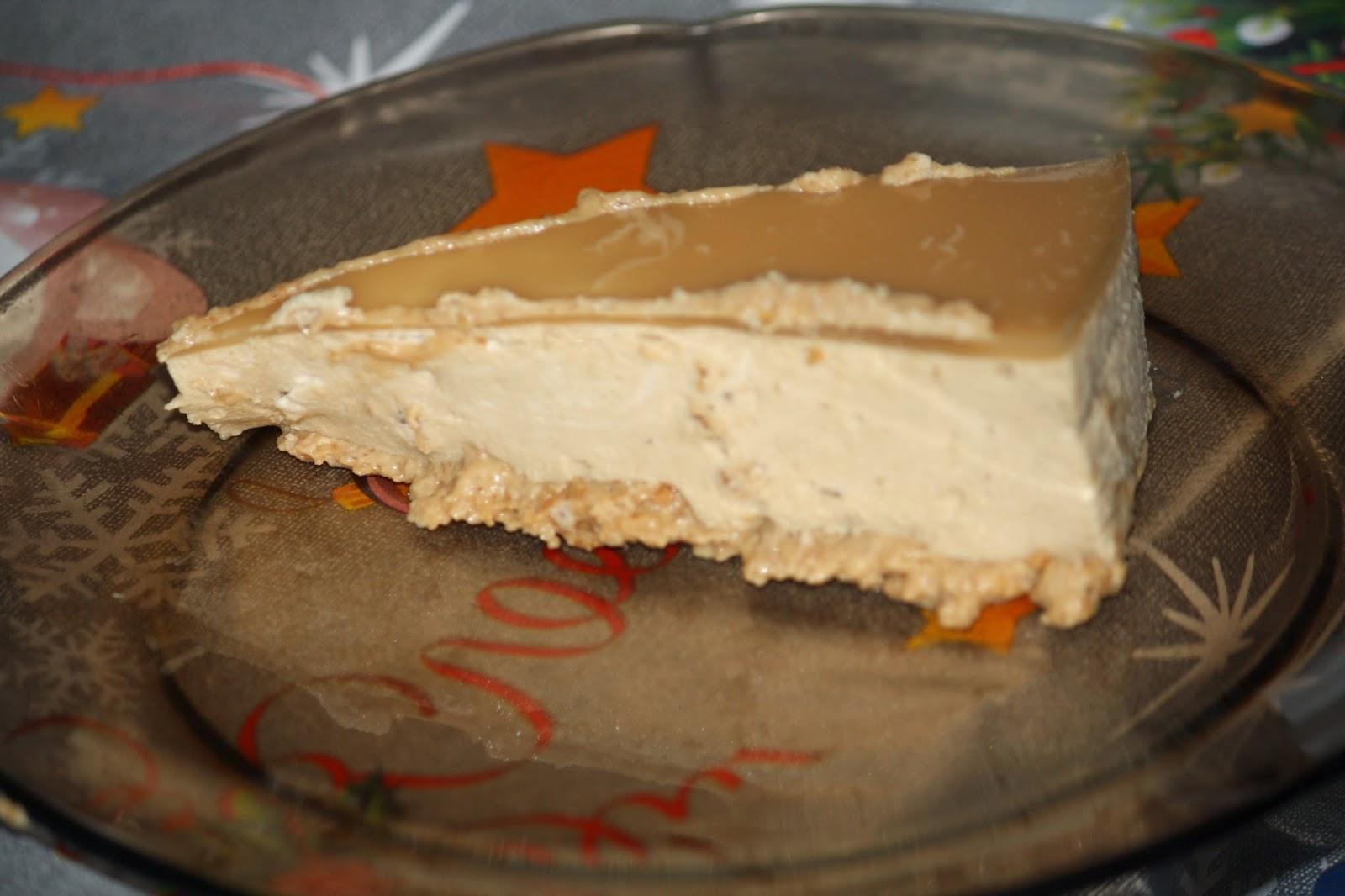 Tarta  de capuchino al caramelo