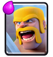 kartu Barbarians clash royale