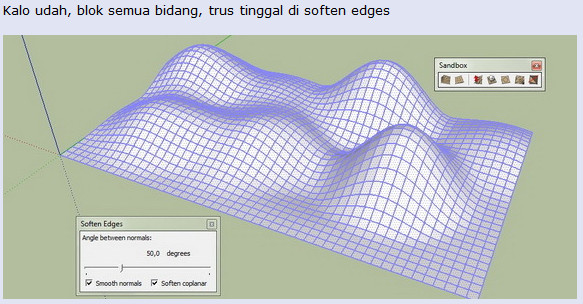 Tutorial Cara Buat Kontur sederhana dengan Tool Sandbox 01