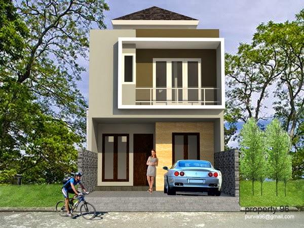 8 Rumah Lebar 6 Meter 2 Lantai Inspiratif
