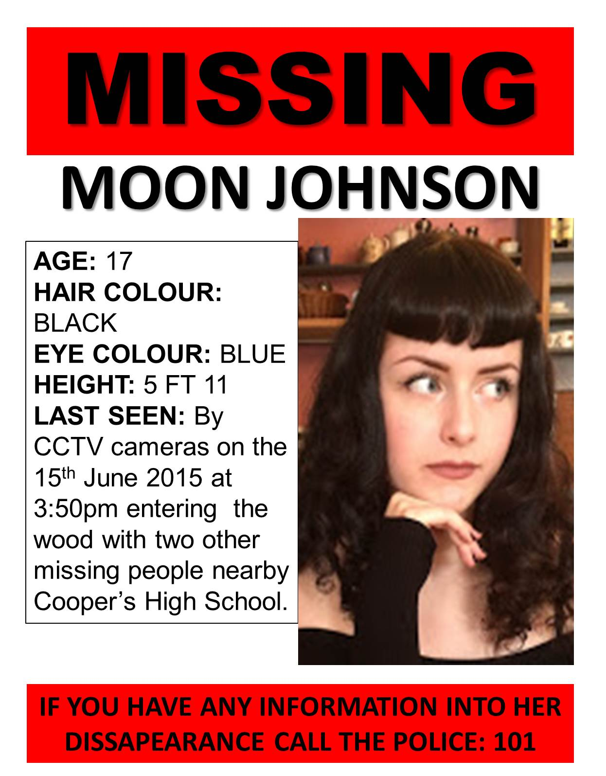 Lucy Day A2 Media Coursework Creating Missing Signs JOHNSON%2BPOSTER Mock  Up Missing Postershtml Missing Person Poster Generator  Missing Person Poster Generator