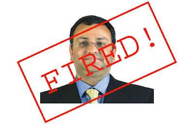 Cyrus Mistry Fired From Tata Group
