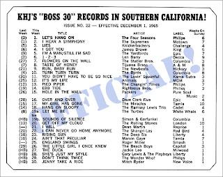 KHJ Boss 30 No. 22 - December 1, 1965